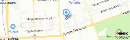 АРТ-Авто на карте Челябинска
