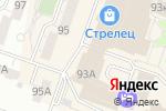 Схема проезда до компании Еврострой в Челябинске