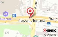Схема проезда до компании Аметиз в Челябинске