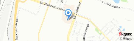 Тринити на карте Челябинска