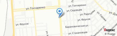 Уральский богатырь на карте Челябинска