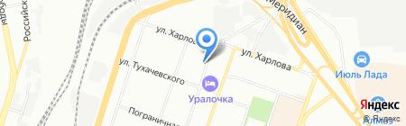 Ресурс-2 на карте Челябинска