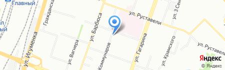 Изабелла на карте Челябинска