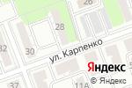 Схема проезда до компании Городской центр реабилитации инвалидов в Челябинске