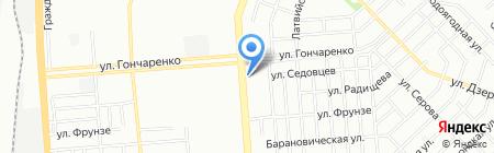 Центурион на карте Челябинска