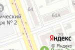 Схема проезда до компании Урал-Пресс в Челябинске