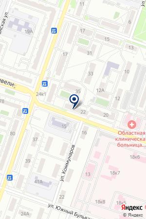 ПАРИКМАХЕРСКАЯ ИРЭН на карте Челябинска