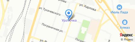 Настоящая женщина на карте Челябинска
