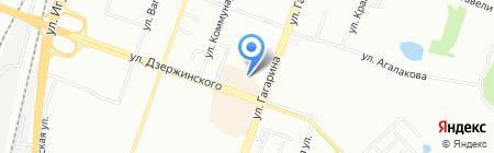 Стрела М на карте Челябинска