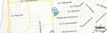 Нарцисс на карте Челябинска