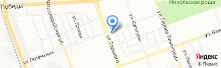 Пивной прибой на карте Челябинска