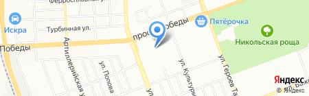 Интернационалист на карте Челябинска