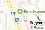 Схема проезда до компании Суши Лайф в Челябинске