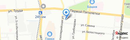 Овимэкс на карте Челябинска