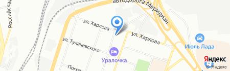 Эла-Авто на карте Челябинска