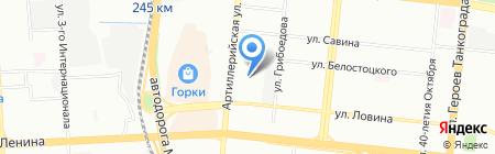 Регион-Урал на карте Челябинска