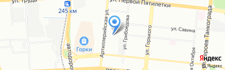 Инженерные сети на карте Челябинска