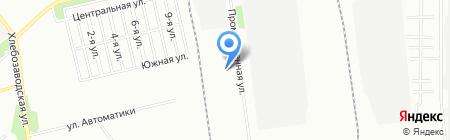Южуралпак на карте Челябинска