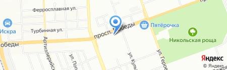 Шоколад на карте Челябинска