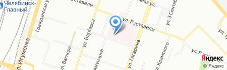 Областная клиническая больница №2 на карте Челябинска