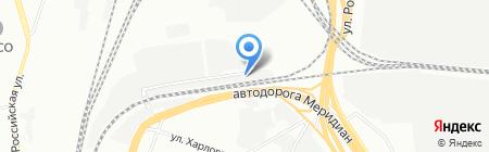 ЛидерАвто на карте Челябинска