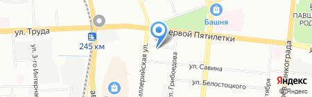 СПТ Компани на карте Челябинска
