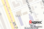 Схема проезда до компании Jana в Челябинске