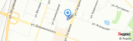 Капитошка на карте Челябинска