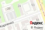 Схема проезда до компании Балд Бикини Студио в Челябинске