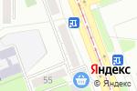 Схема проезда до компании Магазин мебели и дверей в Челябинске