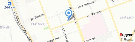 Скорая медицинская помощь на карте Челябинска