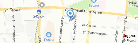 Санрайз-Про на карте Челябинска