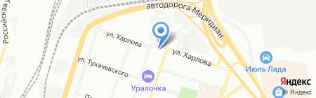 Тех-АС на карте Челябинска