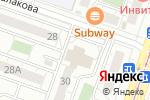 Схема проезда до компании УралРесурс в Челябинске