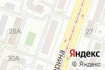 Схема проезда до компании Секрет в Челябинске