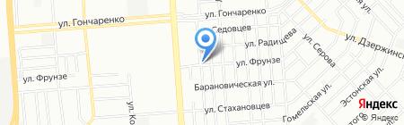 Колизей на карте Челябинска