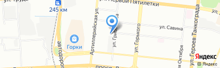 Прокуратура г. Челябинска на карте Челябинска