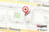 Схема проезда до компании Интерпилот в Челябинске