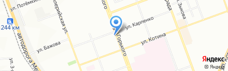 Дамское счастье на карте Челябинска