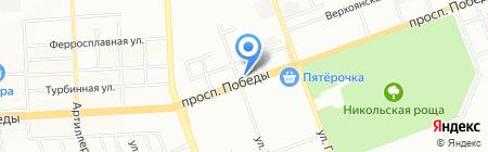 Евро Моторс на карте Челябинска
