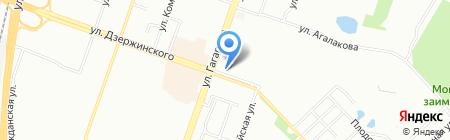 Айболит на карте Челябинска