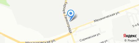 ЧелябТехТрейд на карте Челябинска
