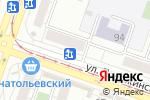 Схема проезда до компании Мировые джинсы в Челябинске