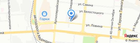 Прокат 005 на карте Челябинска