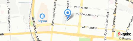 Русский Прокат на карте Челябинска