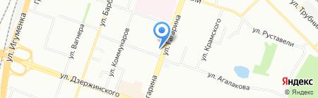 Сытый карапуз на карте Челябинска