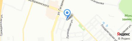 Райский уголок на карте Челябинска