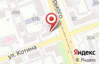 Схема проезда до компании Атрос в Челябинске