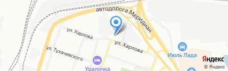 Forsage на карте Челябинска