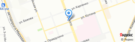 Челябинское Бюро Юридической Помощи на карте Челябинска